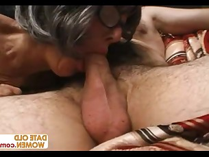 granny high-heels mature