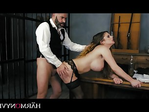 anal ass babe big-tits brunette cumshot doggy-style fingering fuck