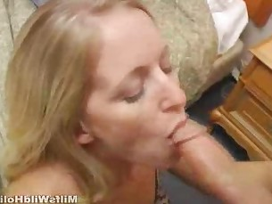 amateur blonde blowjob big-cock dress huge-cock mammy mature milf