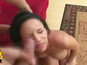anal ass babe big-tits brunette cumshot curvy facials hardcore