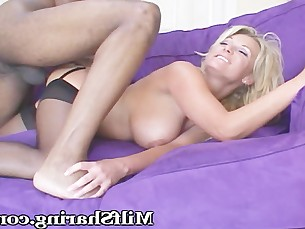 big-tits blonde boobs bus busty big-cock friends high-heels interracial
