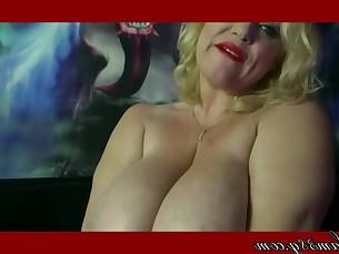 big-tits blonde boobs cosplay curvy bbw fatty fetish jerking