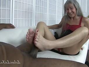 amateur feet foot-fetish footjob interracial mature milf